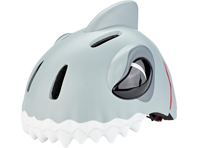 Crazy Safety Shark Helmet Barn grey